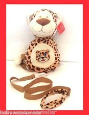 2 IN 1 Kids todddler tiger tigger plush animal safety leash backpack tether