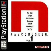 Namco Museum Vol. 1 Playstation 1 Game PS1 Used