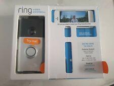 Ring Video Doorbell Interphone Vidéo HD 720p alertes activées par le mouvement