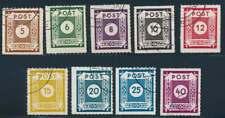 SBZ Nr. 42-50 G gestempelt, Loschwitz (61299)