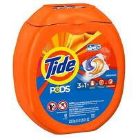 Tide PODS 3 in 1 He Turbo Laundry Detergent Pacs, 81 Count Tub (37000930457)