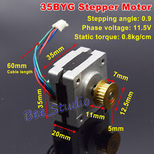 NEMA 14Stepper Motor 2-Phase 4-Wire  for 5mm GT2 Pulley 3D Printer CNC Robot DIY
