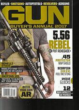 GUN BUYER'S ANNUAL MAGAZINE, 2017   BUILD YOUR OWN  AR     ISSUE, 2017    # 194