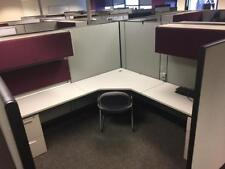 Used Office Cubicles, Herman Miller AO3 Cubicles 8x8