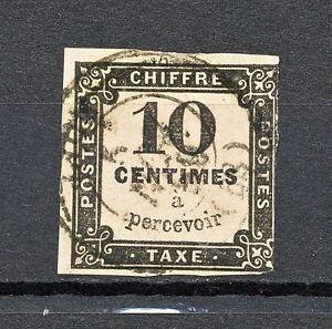 FRSK  177  FRANCE POSTAGE DUE 1859 USED
