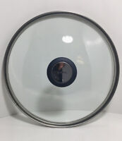 """T-Fal Clear Glass Replacement Lid For Pot Pan 9 3/8"""" Inner 10"""" Outer"""