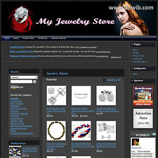 JEWELRY STORE - Complete, Ready Made Affiliate Website - Amazon+Google+Dropship!