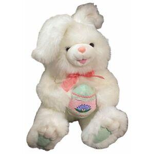 "Dan Dee Hoppy Hopster Easter Bunny Egg Rabbit Plush Collectors Choice Dandee 21"""