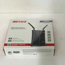 Brand NEW Buffalo AirStation N300 HighPower WiFi Router WHR-300HP BX463