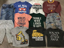 Toddler Boys Clothing Lot, 11 Items, 12-18 Months, Children's Place, H&M, Gap
