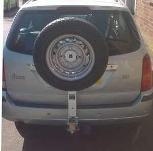 Universal Towball Mounted Spare Wheel Carrier
