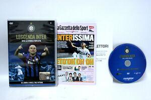 LEGGENDA INTER 2010 LA STORICA TRIPLETTA DVD FILM OTTIMO STATO EDIZ ITA 63696