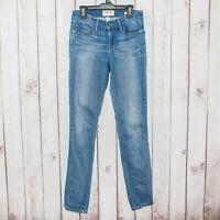 FRAME Denim Women's Le Skinny de Jeanne Linden Jeans Medium Wash Size 26