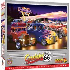 MasterPieces 1000pcs Cruisin Friday Night Hot Rods Jigsaw Puzzle