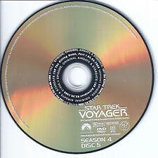 Star Trek Voyager Season 4 Disc 5 Replacement DVD Disc