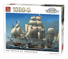 King Kng05397 History The Battle of Trafalgar Puzzle 1000-piece