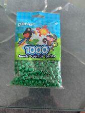 1000 Perler Dark Green Color Iron On Fuse Beads