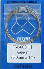 TETRA MODEL WORKS 1/35th Scale Braided Wire Size E 0.6mm x 1m Item TA11