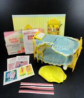 Rare 1964 Vintage Barbie - SKIPPER N SKOOTER Bunk Bed Set w/ Box # 4011