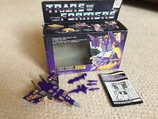 Blitzwing Complete 1985 Vintage Hasbro G1 Transformers Action Figure