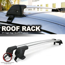 Universal Fit Roof Top Crossbar Utility Rack Carry Cross Bars with Lock Kit