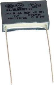 LOT 1 2 5 10 CONDENSATEUR ANTI PARASITE MKP X2 220-230V 0,47µF 0,1µF 470nF 100nF