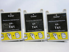 T041 Color Remanufactured Ink Cartridge for Epson Stylus CX3200 C62 C62UX-3pK