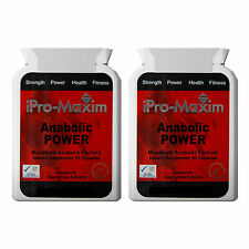 EXTREME STRENGTH ANABOLIC POWER MUSCLE GAINS BODYBUILDING SUPPLEMENT -180 Caps