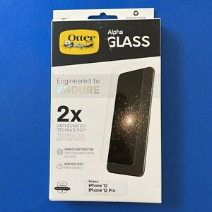 Otterbox Alpha Glass For iPhone 12/12 Pro—Clear Screen Protector / Anti-Scratch