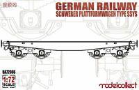 NEUHEIT ! German Railway Schwerer Plattformwagen Type SSYS 1+1
