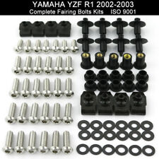 Complete Fairing Bolt Kit body screws for Yamaha YZF R1 2002 - 2003 Stainless