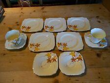 Vintage Paragon China Art Deco Tea Ware 11 pieces