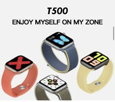 2020 T500 Smart Watch For Men And Women Black Color