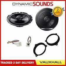 """Pioneer 6.5"""" Front Door Speakers Adaptor Upgrade Kit for Vauxhall Vivaro 2015>"""