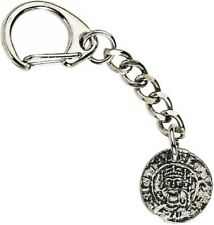 Heraldic reproduction medieval coin Crafted from UK Pewter Key Ring (WA)