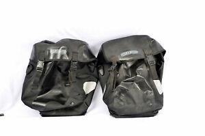 Ortlieb Bike-Packer Classic Bag Panniers Pair Black Made in Germany