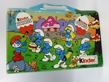 Figurine Smurfs Soccer Kinder Collection 1990 Boxset Luggage Full / Complete