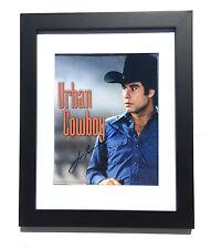 "Urban Cowboy JOHN TRAVOLTA Signed Autographed FRAMED Photo COA! PROOF! ""BUD"""