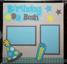 Birthday Bash - Boy - Scrapbook Kit - Single Page