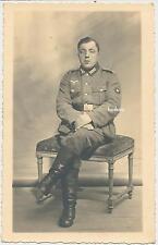 Foto Portrait  Soldat -Schütze -Wehrmacht  (M981)