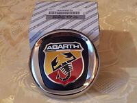 fregio stemma logo ABARTH posteriore FIAT GRANDE PUNTO 85mm baule ORIGINALE