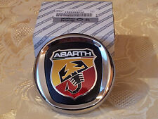 stemma logo ABARTH FIAT GRANDE PUNTO ORIGINALE anteriore 100mm ORIGINALE