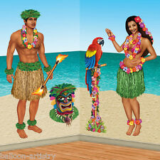 Hawaiian Party tropical décoration Scène Setter add-on accessoires-hula girl Guy
