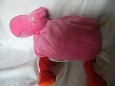 """Giocattolo MORBIDO IKEA/Baby succhietto flodhast Rosa HIPPO ALTO CIRCA 12"""""""