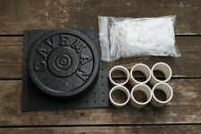 Cast Your Own Weights! 10 lbs / 5 lbs Olympic Concrete Weight Mold. Made in USA