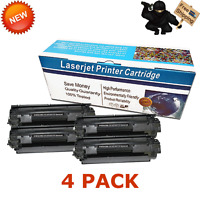 4PK CRG137 Toner Cartridge for Canon 137 ImageClass LBP151dw MF244dw MF249dw