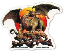 Aufkleber Sticker Dragon Sun Drache Boris Vallejo Autoaufkleber selbstklebend