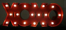 Marquee XOXO Theater LED Light Up Sign