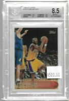 1996 - 1997 Topps Kobe Bryant rookie card BGS 8.5 - Lakers (B)