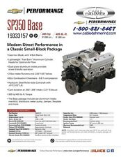 Chevrolet Performance 19333157 SP350 385HP @ 5600 RPM V8 Base 350ci Engine